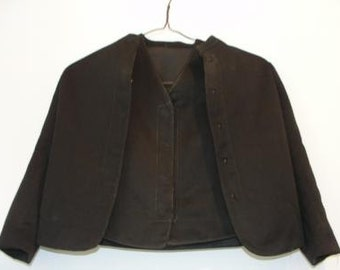 Authentic Amish Child's Jacket and Vest - SKU 1323