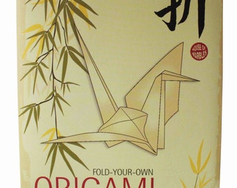 Fold-Your-Own Origami (counter display)