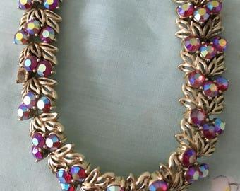 "1950's Beautiful Crystal 8"" Bracelet"