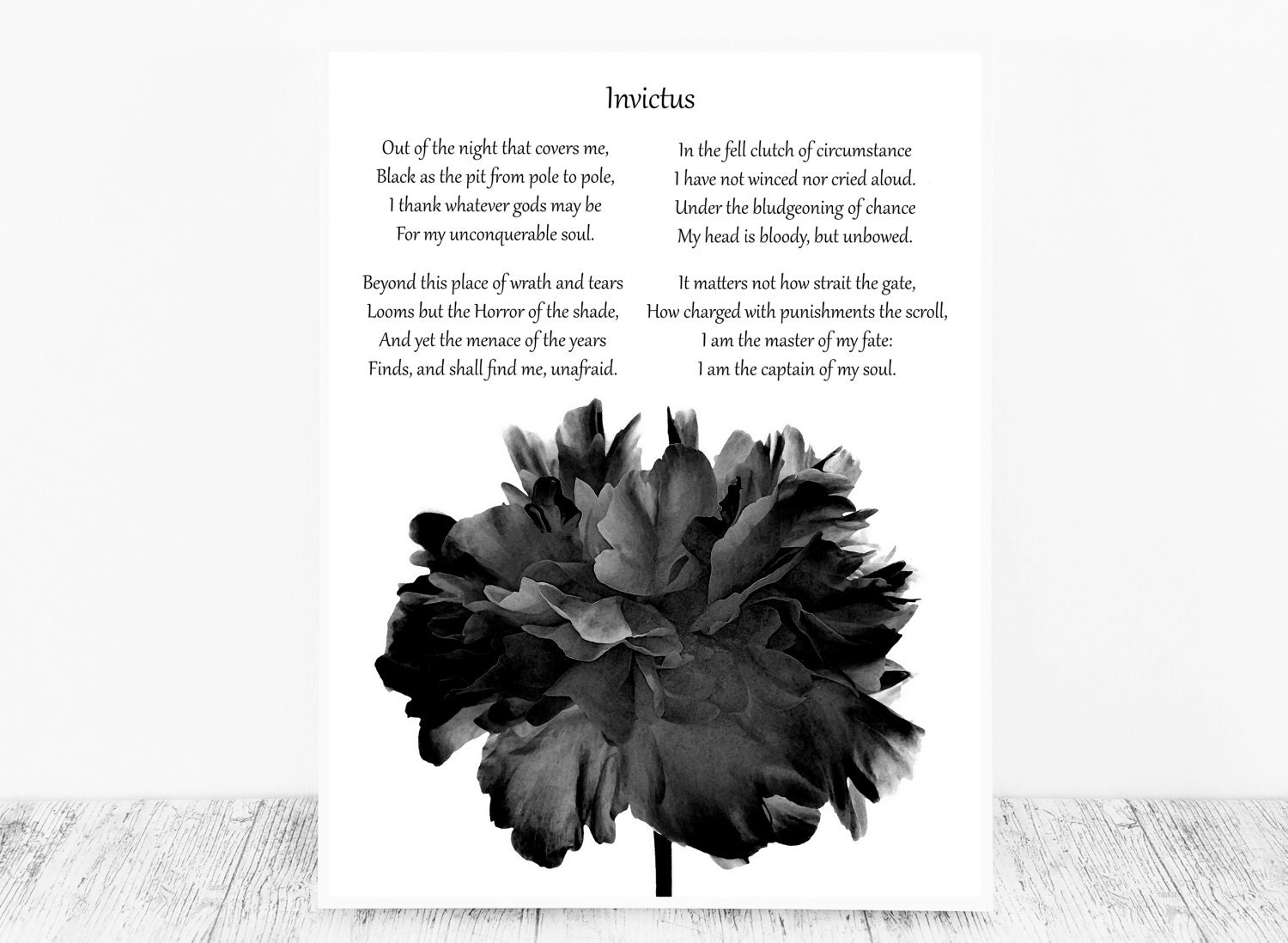 an interpretation of invictus a poem by william ernest henley William ernest henley questions and what is the central idea of the poem invictus by william ernest henley an interpretation of the following lines from.