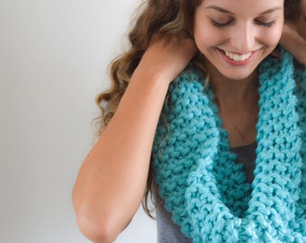 READY TO SHIP   The Clara Cowl   Knitted Cowl   Knitted Scarf