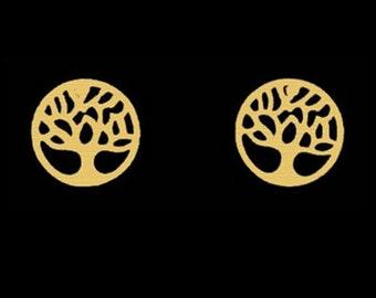 Tree of life earrings, stainless steel earrings, earing, tree earing, earrings, gift
