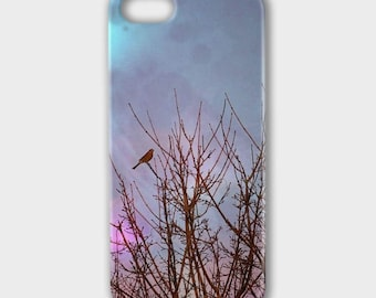 "Phone case ""Evening Song"""