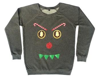 Demon Christmas Sweatshirt