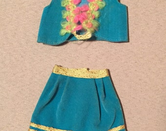 Vintage Barbie Gypsy Spirit Skirt & Vest