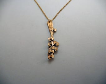 Flowers branch necklace
