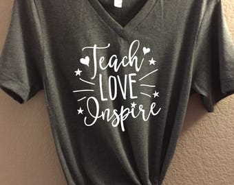Teacher T Shirts Etsy