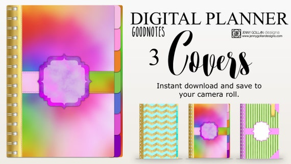 Digital planner covers for ipad goodnotes for For planner