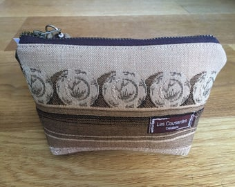 """Wallet """"The Embroiderers"""" Upcycling in ancient tapestry Kit"""