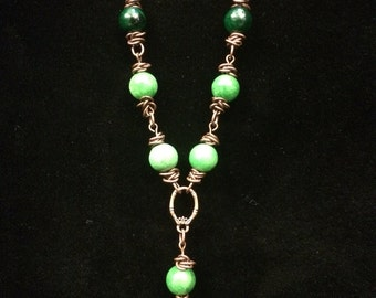 Green Quartzite Necklace