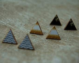 Wooden studs triangle