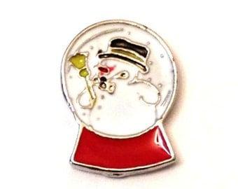 Snow Globe Charm for Glass Locket