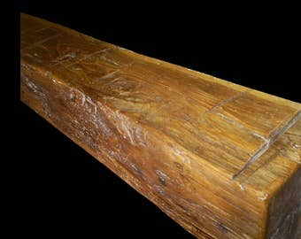 Pine Barn Beam Mantle, Fireplace Mantle Barn Beam, Fireplace Mantel MN, A1 Mantle, Fir Mantle, Spruce Mantle, Minnesota MFG.