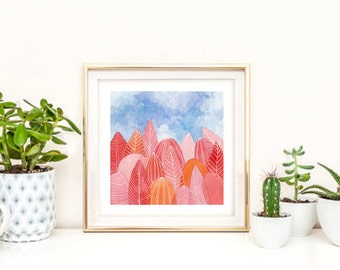 Original Painting Coral