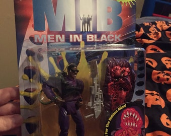 Men in Black Flame-Blastin' Jay vs Scorched Alien action figure