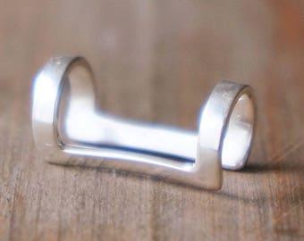 Ear Cuff Duce Silver