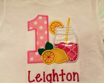 Lemonade birthday shirt