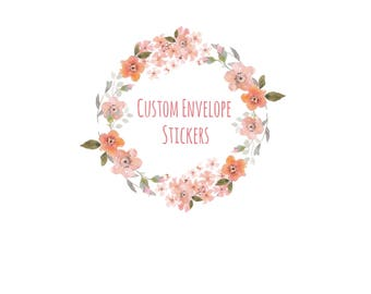 Custom Envelope Stickers - Made to Match