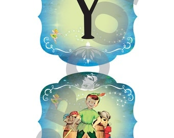 Birthday Banner Peter Pan collection