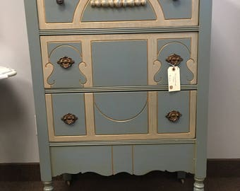 Princess Blue Dresser