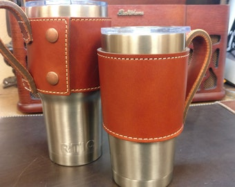 Chestnut Yeti Cup Sleeve w/. Handle