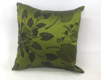 Cushion Cover - Waterlily design  by Eva Nganjmirra