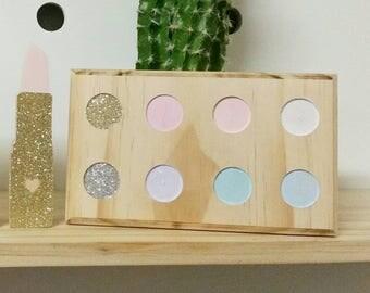 Wood Makeup Set