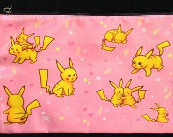 Pink! Pikachus Pouch