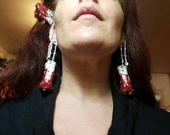 Clip on Tampon Earrings