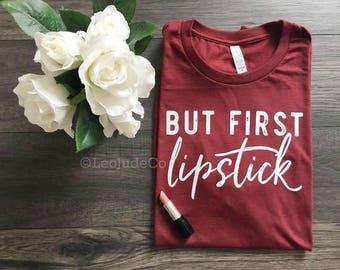 but first lipstick ©