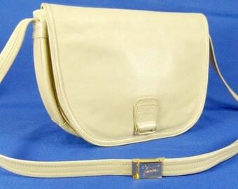 Vintage TEXIER,leather bag,shoulder bag 70s-80s