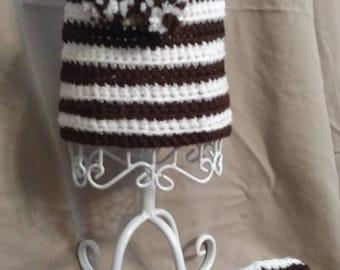Dog Harness with Leash. Crochet.