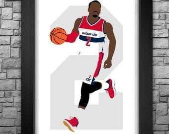 JOHN WALL minimalism style limited edition art print. Choose from 3 sizes!