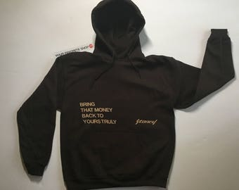 Post Malone Stoney Bring That Money Back To Yourself Hoodie
