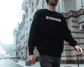 The Weeknd, Starboy hoodie, Stargirl hoodie, Weeknd sweatshirt, Weeknd album, Starboy sweatshirt
