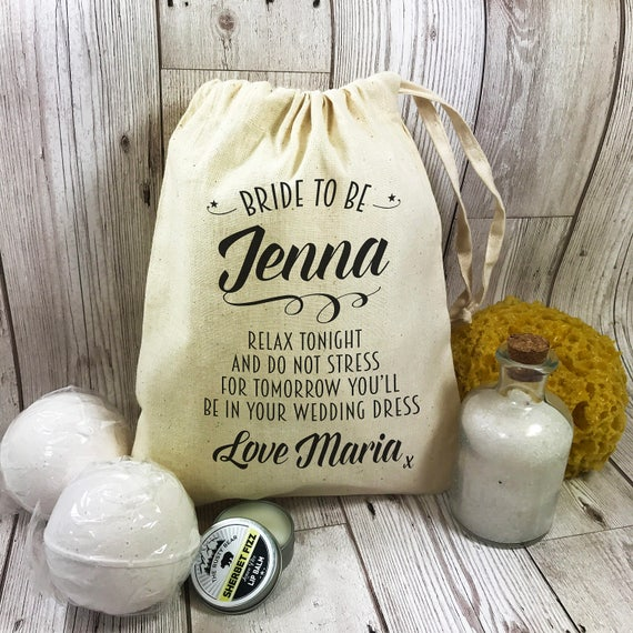 Wedding Night Gift For Bride: Bride To Be Pamper Night Before The Wedding Gift Set Bath