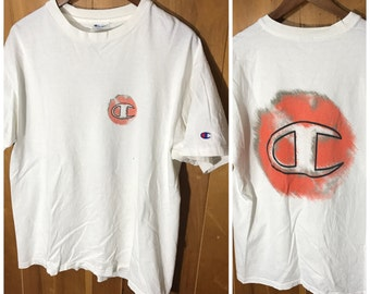 Champion Made In USA Double Sided T-Shirt