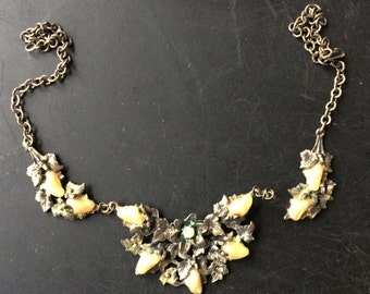 Old Jewelry parts, pearls Vintage