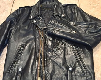 Vintage AMF Harley Davidson Leather Jacket