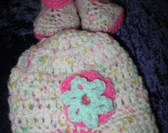 Dolls Hat and Booties