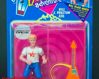 Bill & Ted's Excellent Adventure Bill S Preston ESQ Action Figure 1991 Kenner