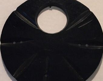 Large Circular Vintage Button