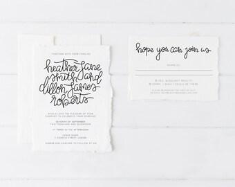Wedding Invitation Suite, Wedding Invitation Set, Wedding Invitation Printable, Wedding Invitation Rustic/Vintage