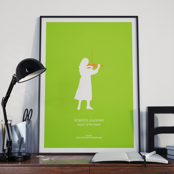 Minimalist Classroom Music ~ Meryl streep minimalist poster as real life music teacher