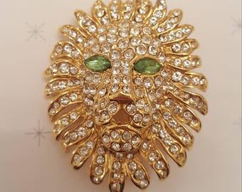 ZODIAC LION PIN
