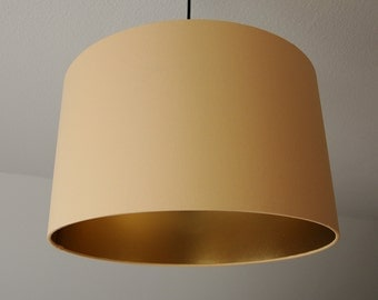 "Lampshade ""Apricot-Gold"""