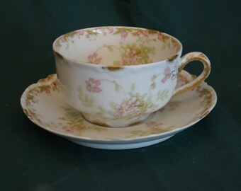 Reserved for B- Haviland Limoges French tea cup set