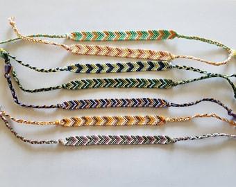 Handmade Chevron Friendship Bracelet