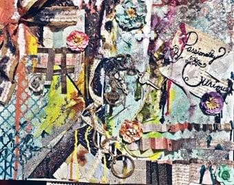 Mixed Media wall art.