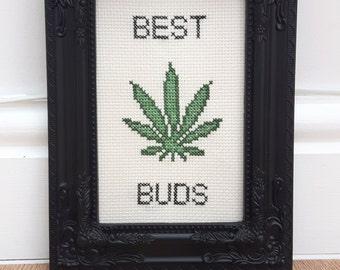 Best Buds Cross Stitch